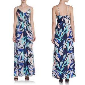 NWOT Yumi Kim Cleo Watercolor Maxi Dress XS